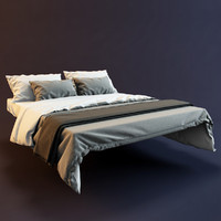 3d bedclothes bed