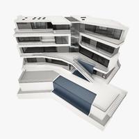 modern design house 3d model
