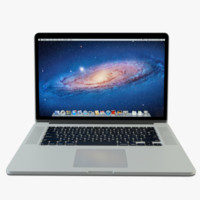 3d model apple macbook pro
