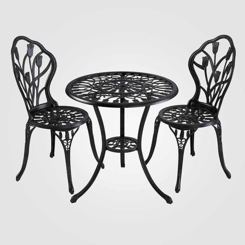 b Iron Dining Table & Chair Set carved forged classic classical 0001.jpg