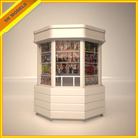 Kiosk : Newspapers and Magazines