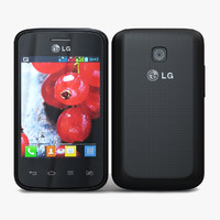 lg optimus l1 ii 3d model