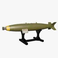 3dsmax demolition bomb mk 82