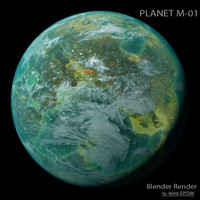 planet m-01 m 3d max