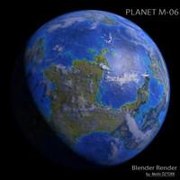 planet m-06 m 3d max