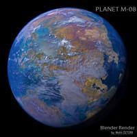 planet m-08 m 3d max