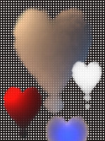 Isolated High Resolution 3D Clouds Hearts