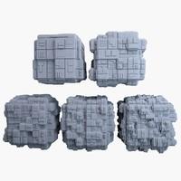 3dsmax sci-fi cube mht-05