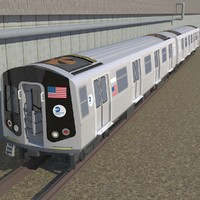 maya r160 subway train