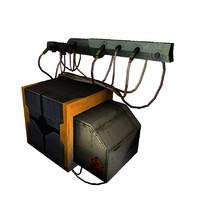 3d 3ds industrial generator