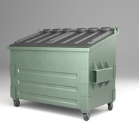 dumpster ready 3d max
