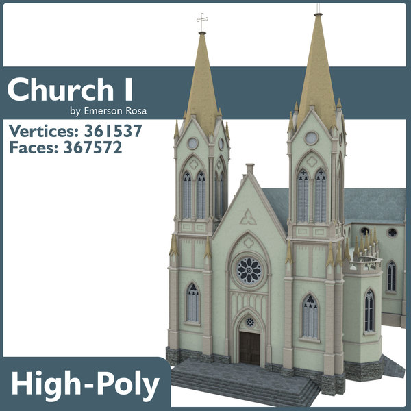 church city build 3d max