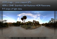DESERT DIRT ROAD AT SUNSET 360 HDR PANORAMA #259