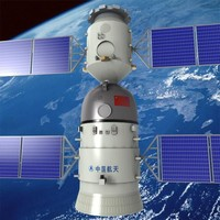 shenzhou 10 spacecraft fbx