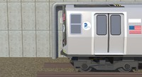 3d r160 subway train