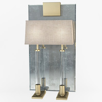 baker - versailles wall light 3d max