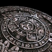 3d mayan calendar model