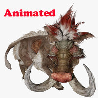 3d giant forest pig