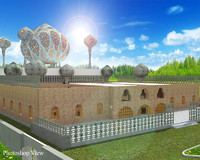 3ds max mosque realistic