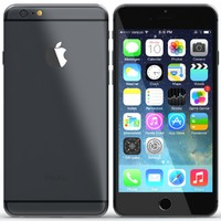 3ds max iphone 6 black