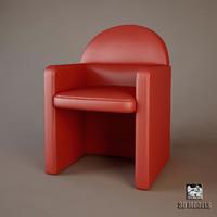 modern armchair chair max