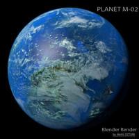3dsmax planet m-02 m