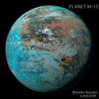 planet m-12 m 3d max