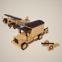 directx wooden army toys
