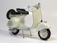 maya vespa modeled