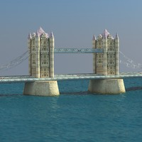 london tower bridge 3d 3ds