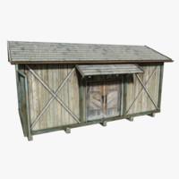 depot wood 3d model