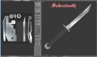 3d sabretooth blade engine