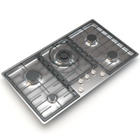 Miele 5-Burner KM 2355 G Gas Cooktop