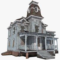 3d model haunted house