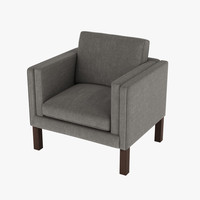 borge mogensen chair 3d max