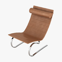 3d poul kjaeholm pk20 chair