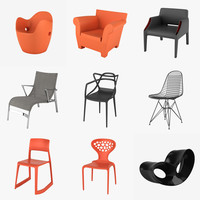 3d model chairs realistic