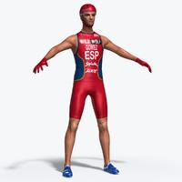 athletic cyclist max