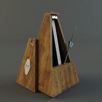 maya wooden metronome
