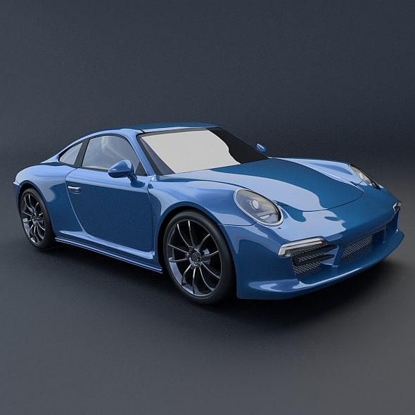 Porsche Carrera 911 4s restyled