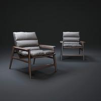 ipanema-armchair 3d obj