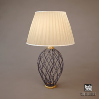 3d country style lamp