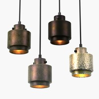 3d model pendant lights lustre tom dixon