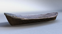 obj rowboat boat cloth
