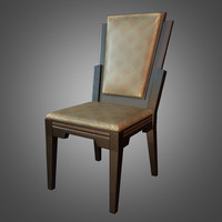 3d model deco dining chair