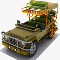 maya safari vehicle