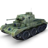 3d model a13 cruiser mk tank