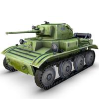 3d model mk tank