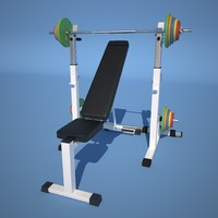 3d weight simulator model