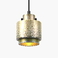 lustre light 4 tom dixon 3d model